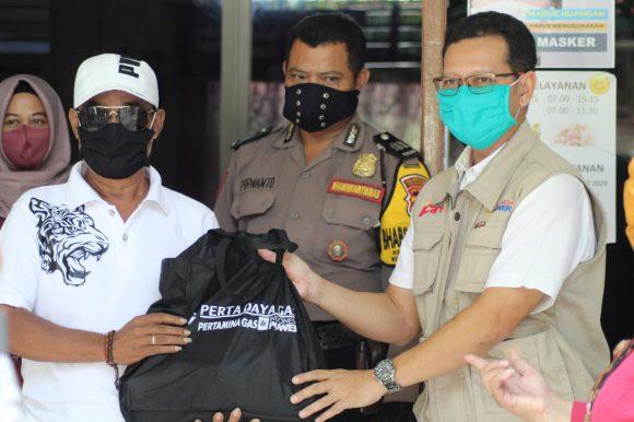 Bantuan Sembako dan Masker Kain Dalam Penanganan Pandemi Covid-19 Bersama PT Indonesia Power Semarang PGU