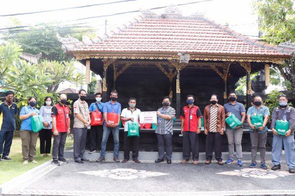 Bantuan Sembako dan Masker Kain Bersama PT Indonesia Power Bali PGU